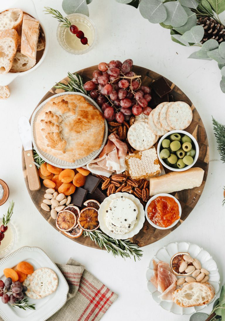 Holiday Cheese Board | Camille Styles