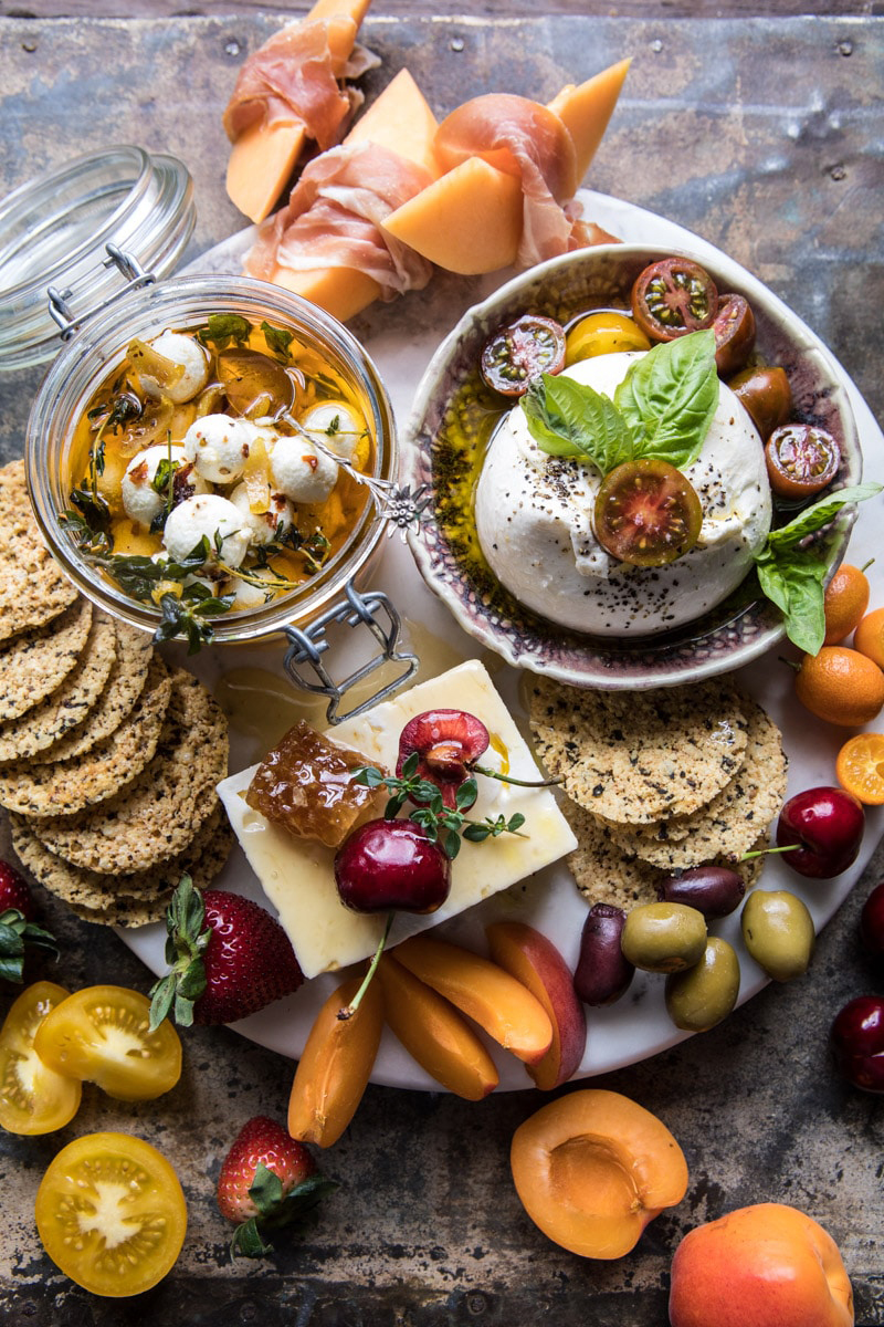The Lighter Cheese Board | Charcuterie | Half Baked Harvest Blog