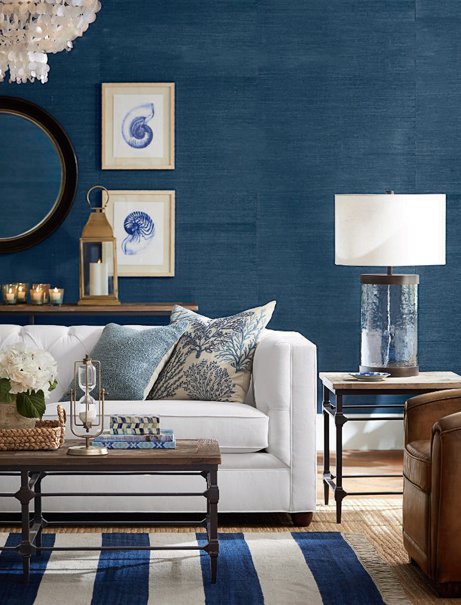 Decorating with Blue   Pottery Barn