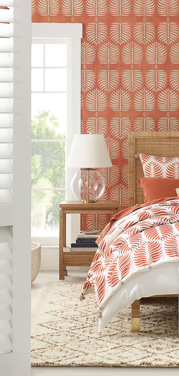 Granada Quilt in Terracotta | Bedroom Decorating Ideas