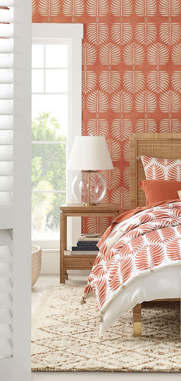 Granada Quilt in Terracotta   Bedroom Decorating Ideas