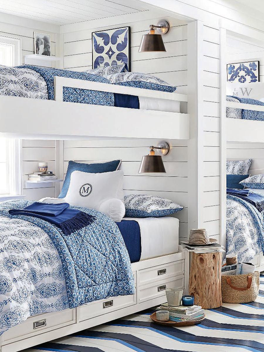 Coastal Guest Bedroom