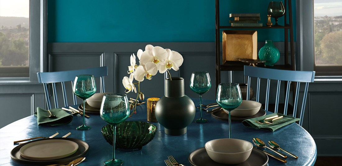 Layering Blues   How to Decorate with Blue
