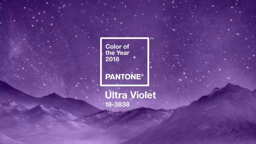 Cor do ano ultra violet Pantone