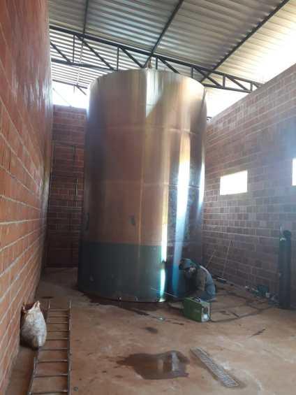 reservtorio de inox 40 mil litros