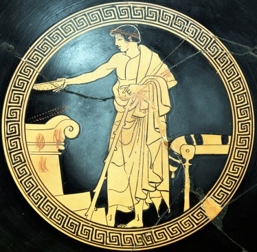 Libação Grécia Clássica
