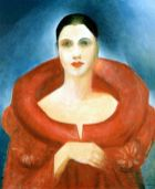 Auto retrato de Tarsila do Amaral