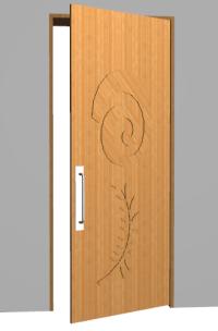 Door Leaf & Information When Door Leaf Hinged To Jamb Sc 1 ...