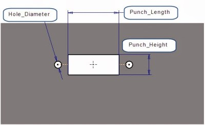 Create the Punch Shape - Features