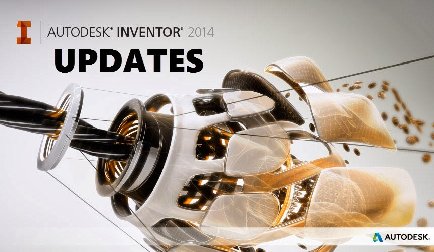 Update 3 for Autodesk Inventor 2014 SP1 Released