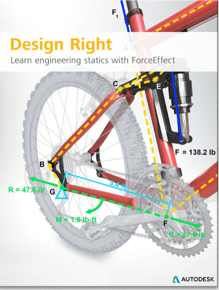 Free eBook ~ Design Right by Autodesk – Learn Engineering Statics with ForceEffect