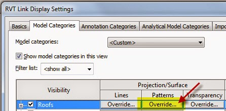 Overriding the Display of Multiple Linked Revit Model