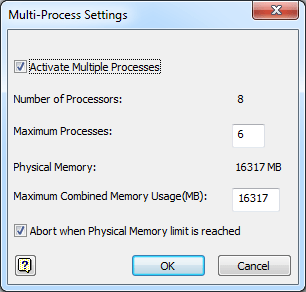 Task Scheduler - Multi-Process Settings