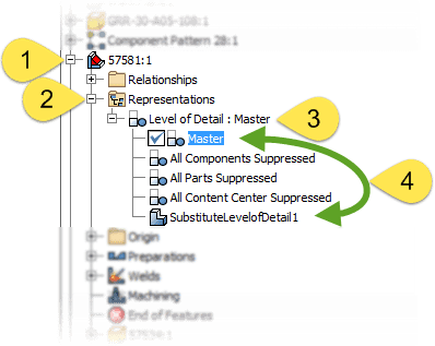 Revert individual Assemblies back to Master LOD for increased detail