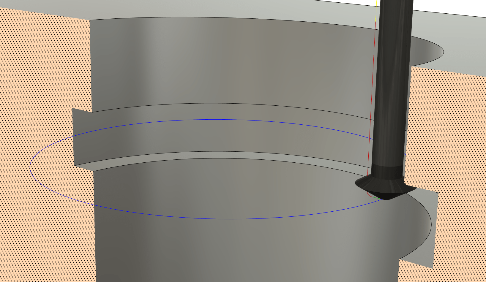 Undercutting Backside Chamfers in Fusion 360
