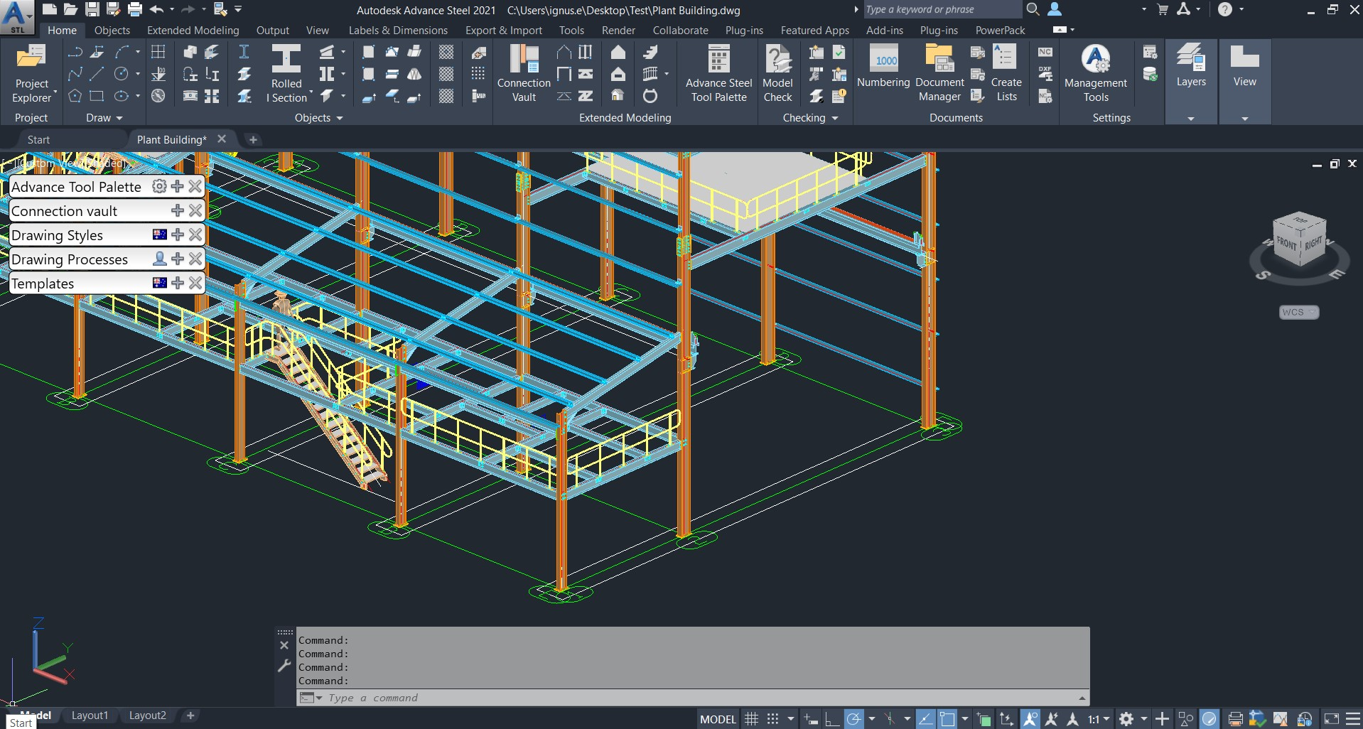 Advance Steel – Using Autodesk Docs to Compare Model and Shop Drawing Versions