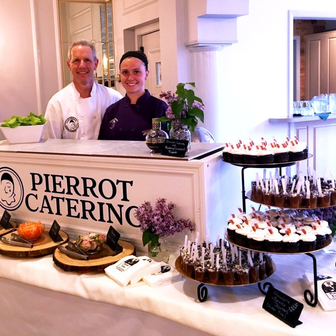pierrot catering at the taste of talent in sussex county nj