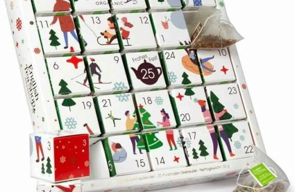 Kalendarz i puzzle w jednym opakowaniu :)