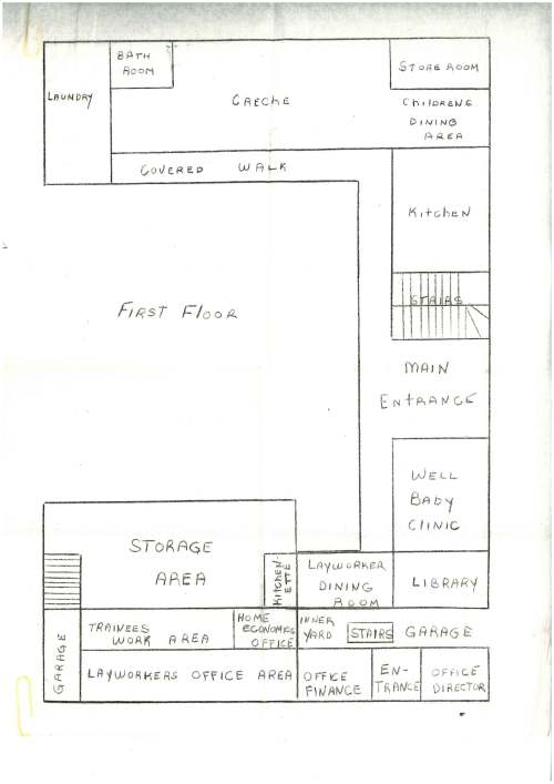 small resolution of the ground floor plan of the new hospital dominica cafod