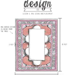 Correct Area Rug Size For Living Room Rustic Lamps Guide Caitlin Wilson Right Of Dining Layout 2