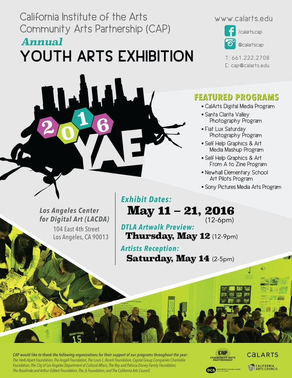 Calarts Cap Youth Arts Exhibit View 21