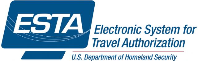 Logo de l'ETSA (Electronic System for Travel Authorization) - Visa USA pour partir en vélo et autres