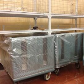 Cambro Camshelving and Dish Caddies at Unaway Hotel - San Lazzaro Italy