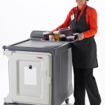 Cambro Meal Delivery 10 Tray Room Service Cart