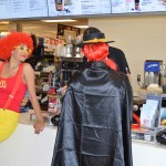 Ronald and the Hamburglar