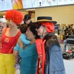 Ronald and the Hamburglar at McDonalds