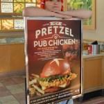 Wendy Really happy with Pretzel Pub