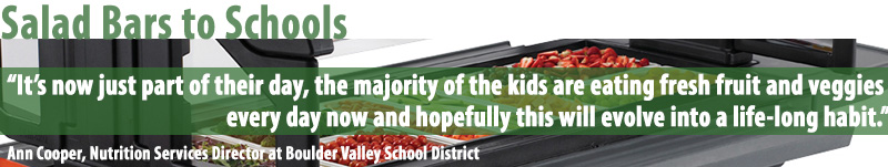 Salad Bars - School Lunch Trends