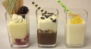 Mini Dessert Glasses - Cambro Blog