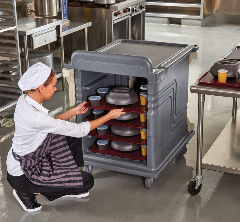 2 Door Meal Cart Kitchen 8