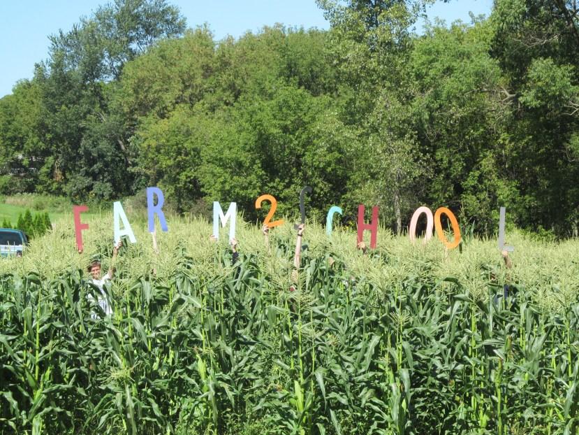 FFA members in sweet corn field Farm 2 School.JPG