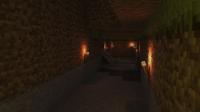 3D Minecraft Cave Render