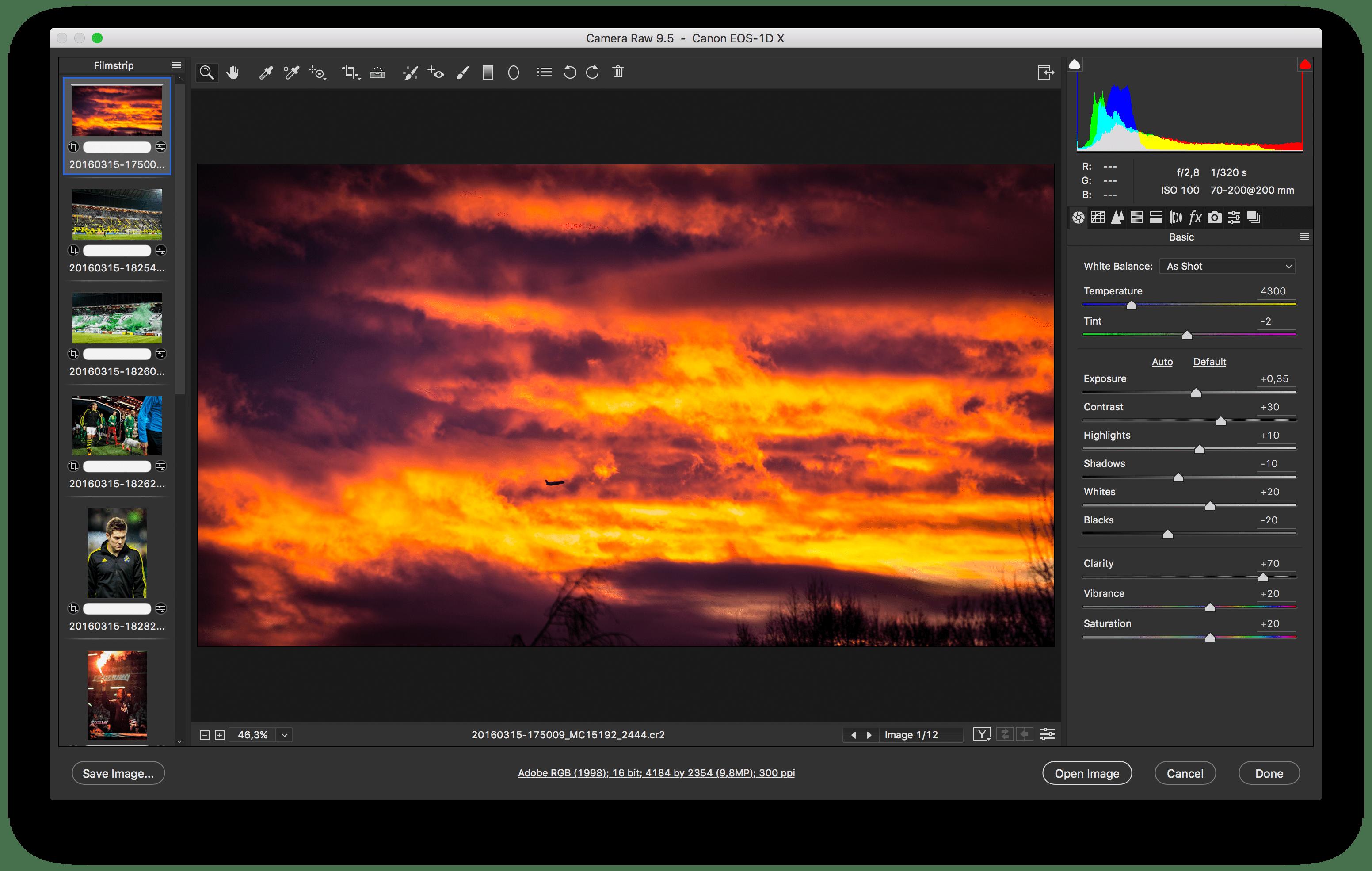 New Ui For Adobe Camera Raw