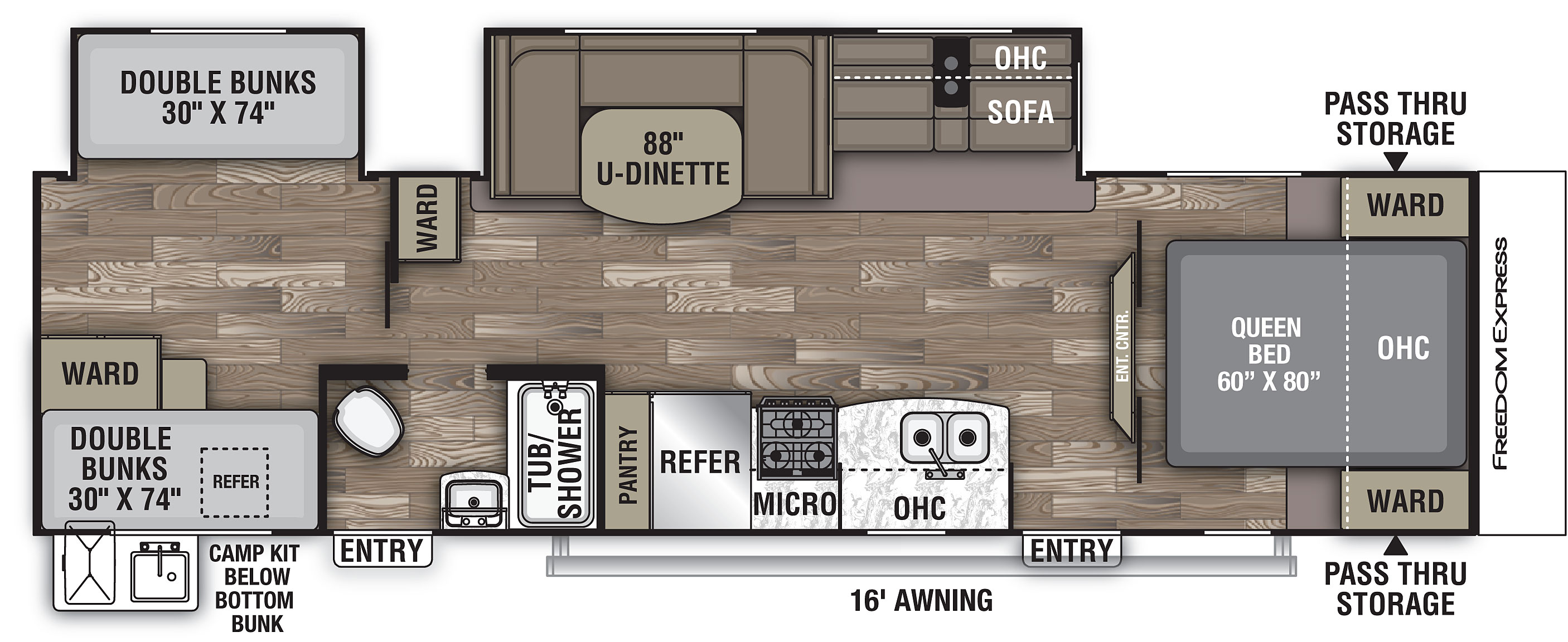 I am a 16 year old who loves math,science,and electronics(and programming).i have to design my new room(a 14'x20' empty space right now) and am out of ideas.i tried searching the site for some cool ideas,but my searching skills are pretty b. Best 2 Bedroom Travel Trailer Floor Plans