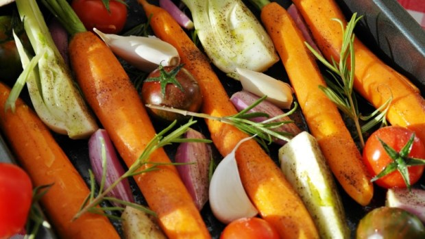 vegetarian camping food meals