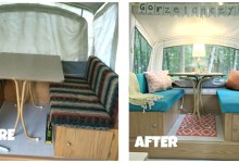 diy pop up camper restorations
