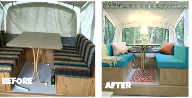 diy pop up camper restorations