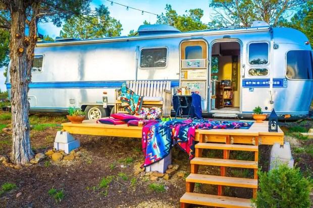 airstream camper trailer rental in Colorado