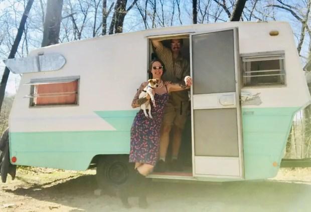 camper trailer rentals in Michigan