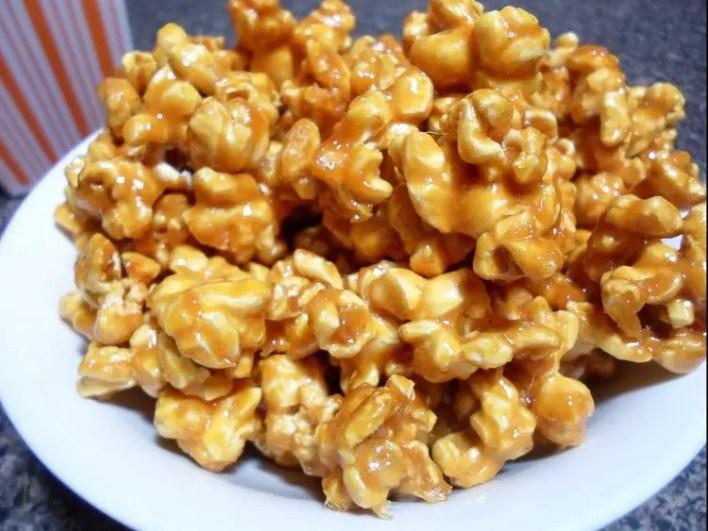 Camping Snacks Ideas - Caramel Corn