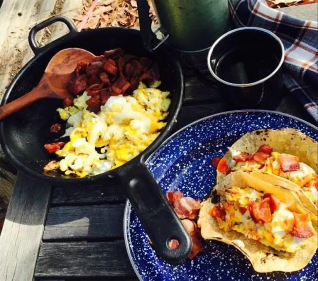 campfire bannock recipe tacos