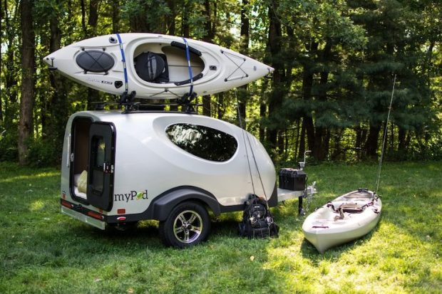 MyPodTrailer Micro Camper from Little Trailer Guys