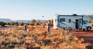 dry camping in the plains