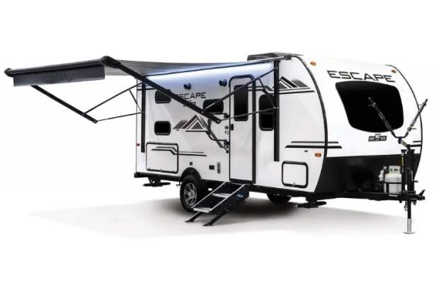 Hybrid Camper Exterior - 2021 KZ Escape E191BHK