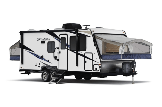Hybrid Travel Trailer - 2021 Palomino Solaire Expandable - 147X Exterior