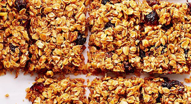 Camping Breakfast Ideas - Granola Bars